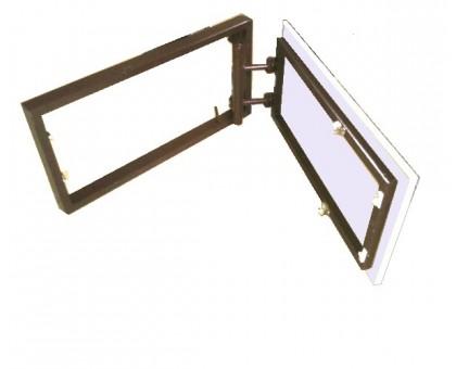 Нажимной люк под плитку REVISORY SMART нерегулируемый 55х55 см