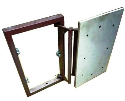 Сдвижной люк под плитку нерег. 30х30 см