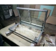 Стеклянный люк в пол на электроприводе GlassCellarTrapDoorElectricDrive