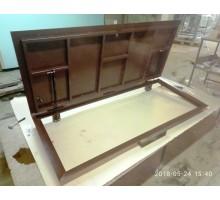 Стальной люк в приямок тип Сталь 100х200 см